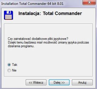 Total Commander installation step 2