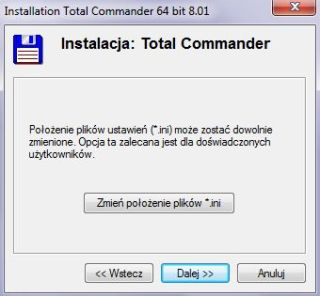 Total Commander installation step 4